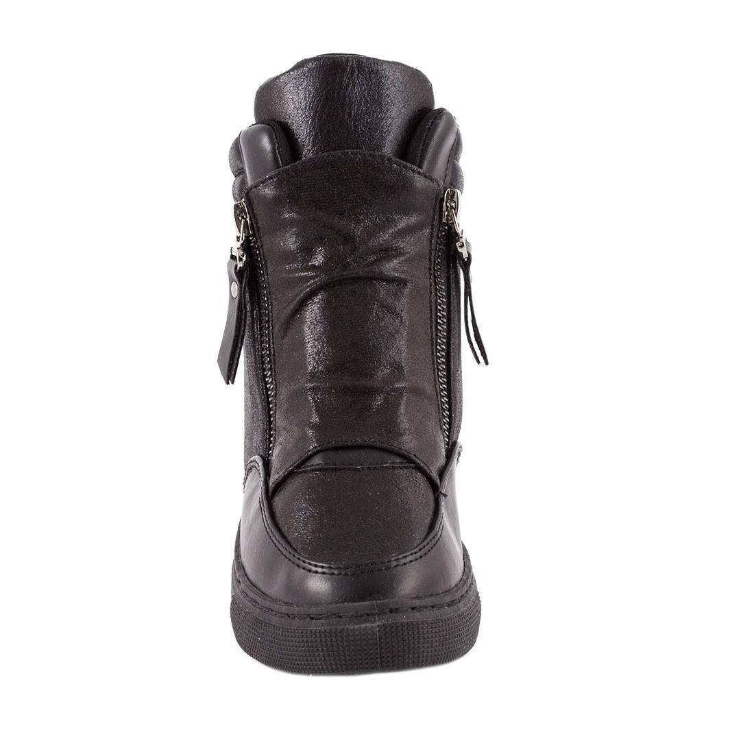 Sneakers cu talpa ortopedica HL61061-NEGRU