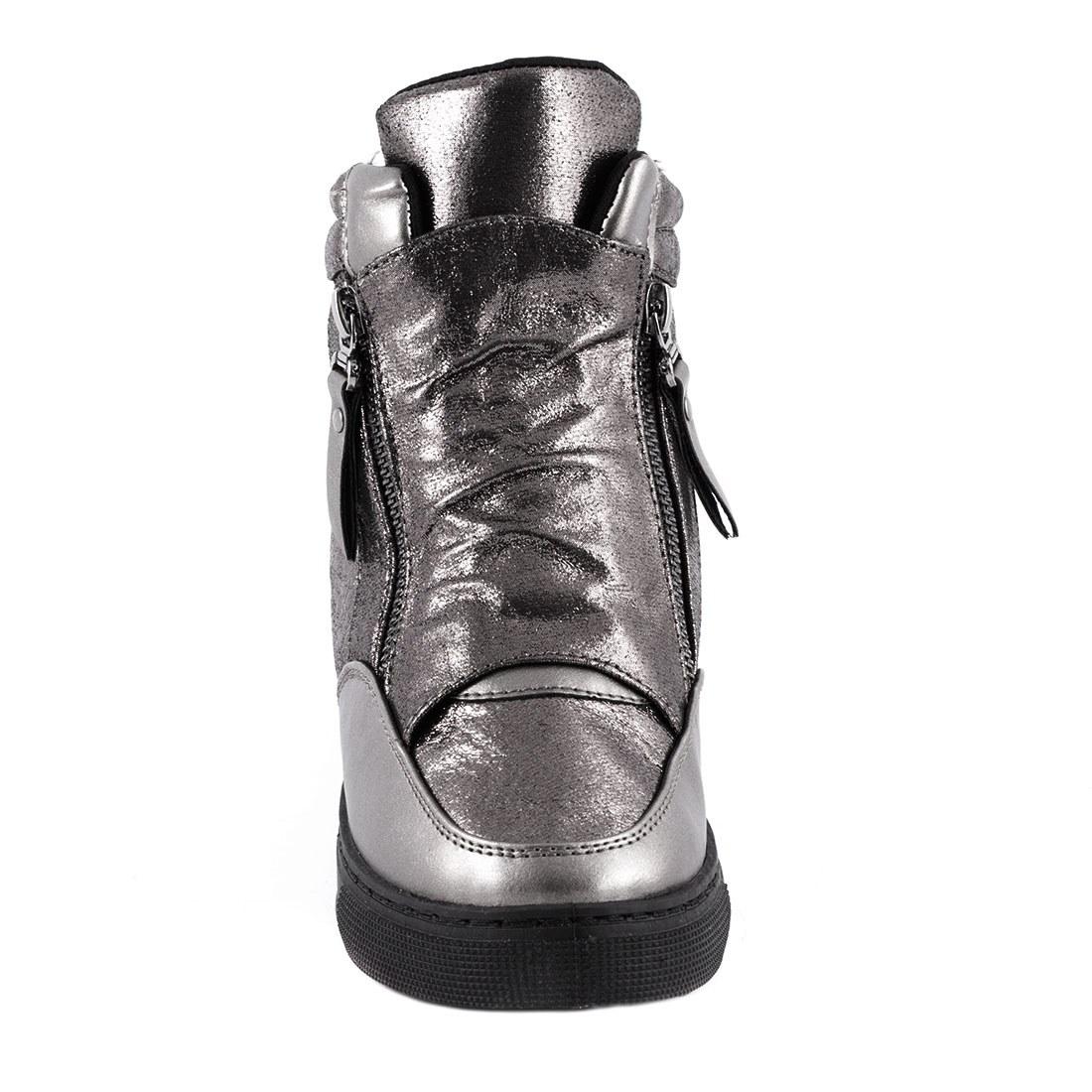 Sneakers cu talpa ortopedica HL61061-GUN