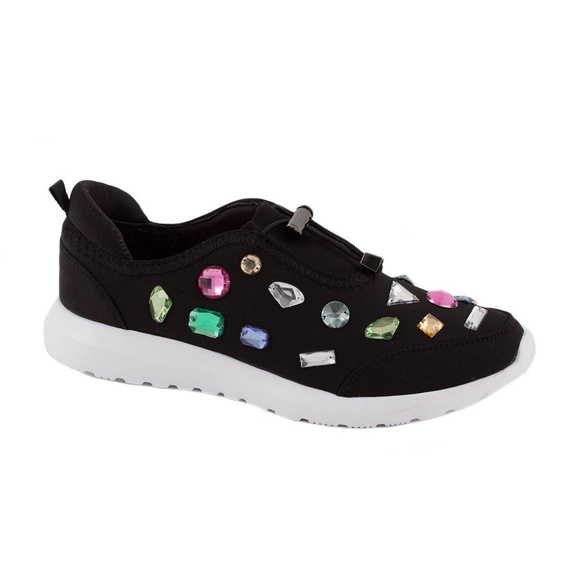 Pantofi de dama sport LT749-NEGRU