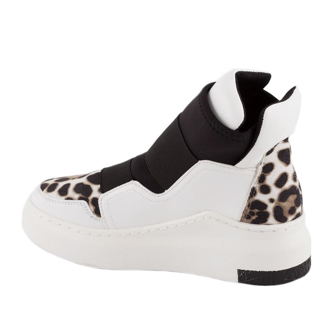 Sneakers de dama 6321-LEOPARD