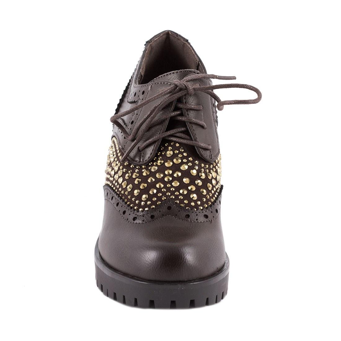 Pantofi dama cu toc 2203-MARO