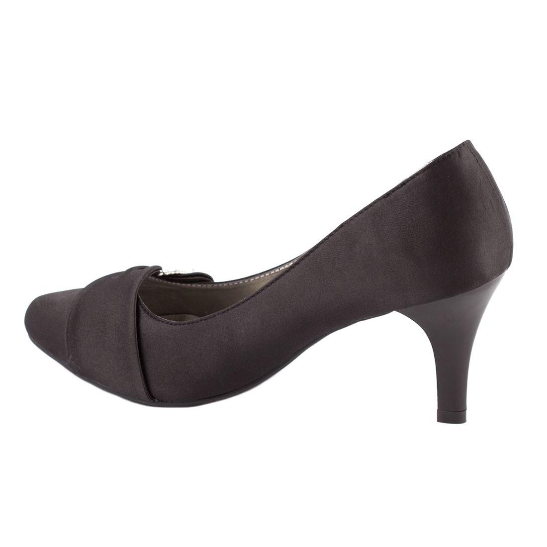Pantofi dama cu toc A07168-2NEGRU