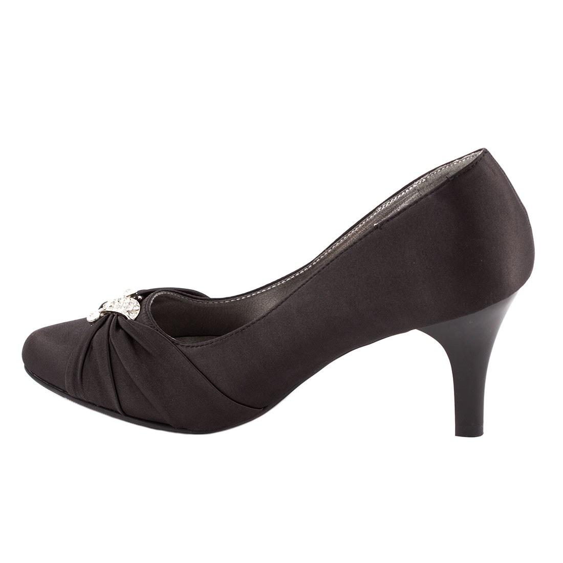 Pantofi dama cu toc A07168-7NEGRU