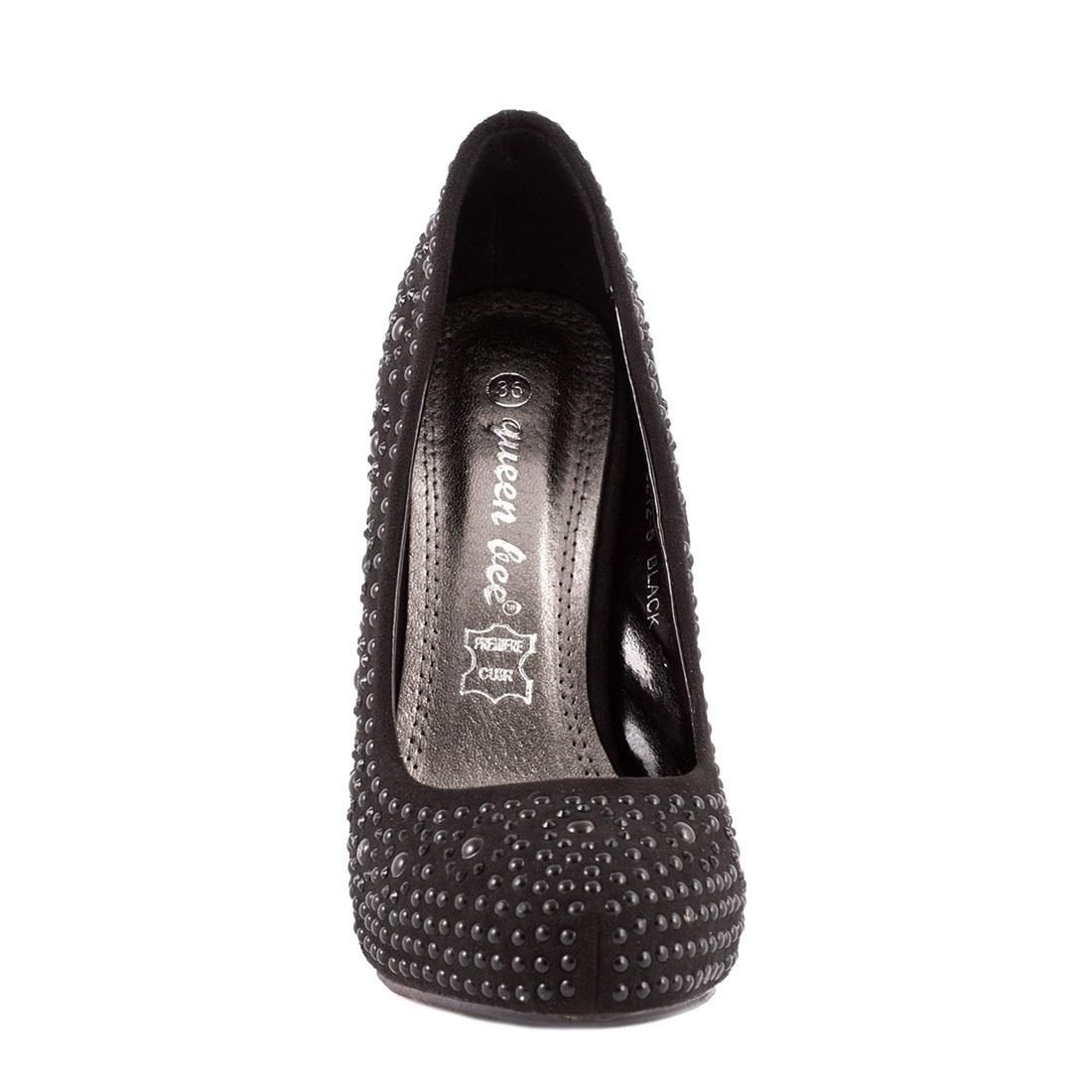 Pantofi dama cu toc M3212-5NEGRU