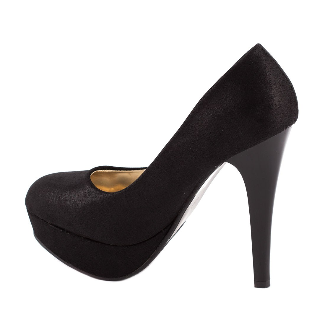 Pantofi dama cu platforma M3212-1NEGRU