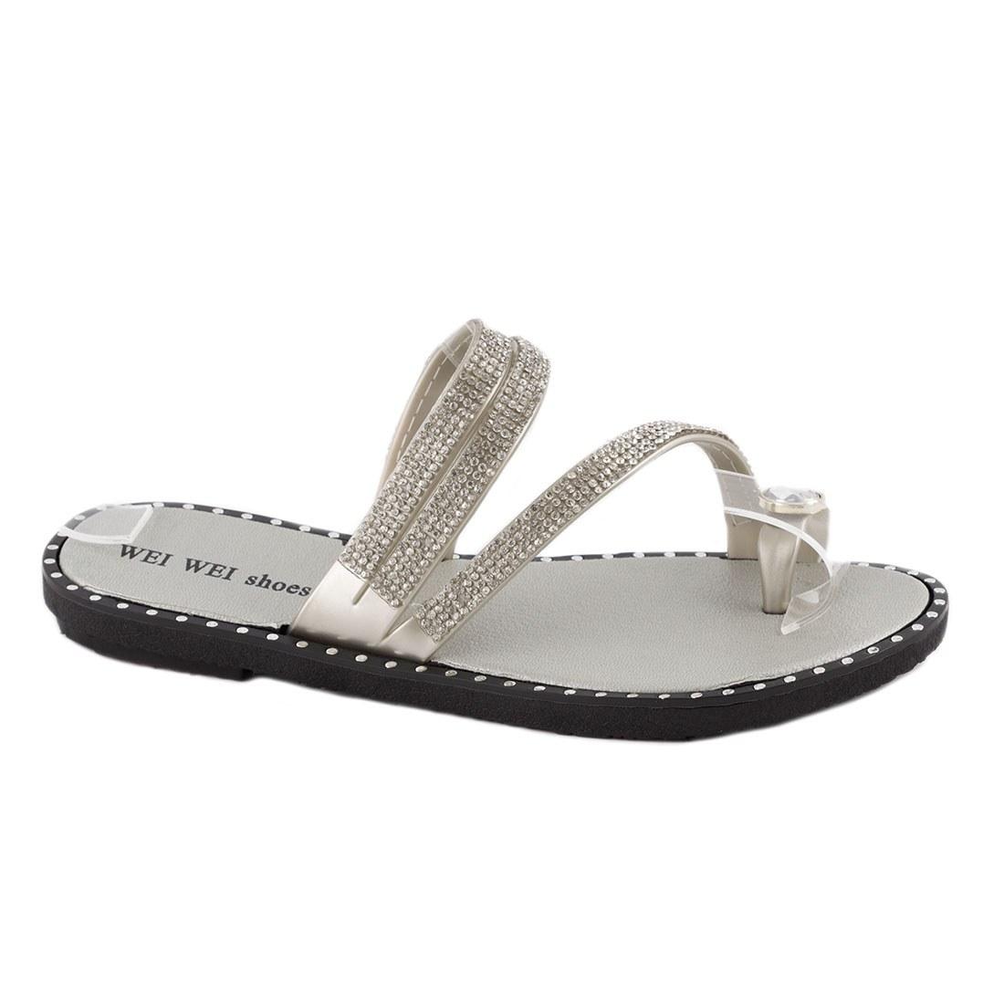 Papuci dama comozi P1620-GRI