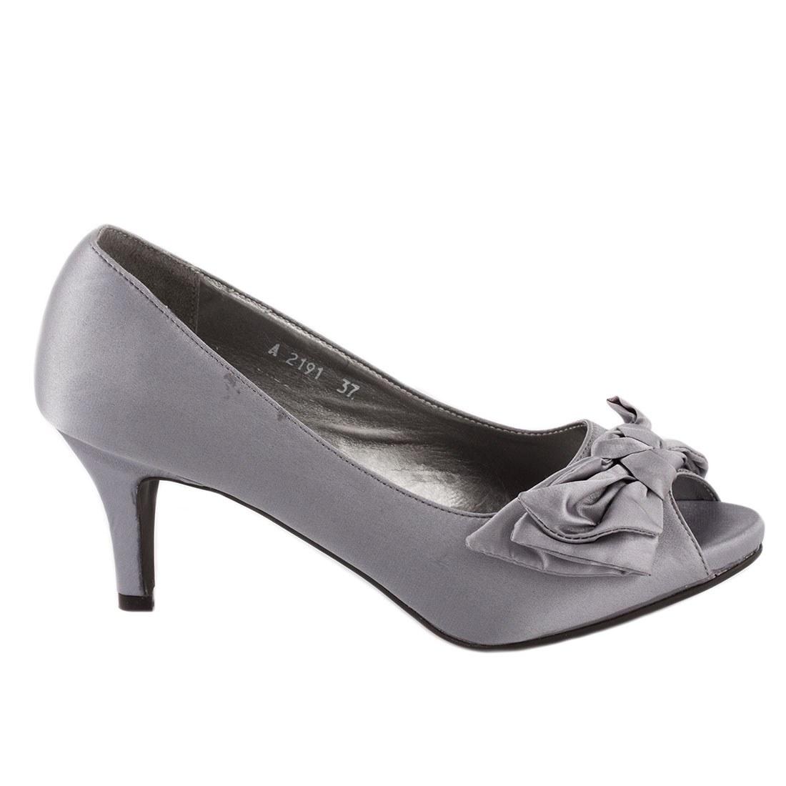Pantofi de dama A2191-GRI-O