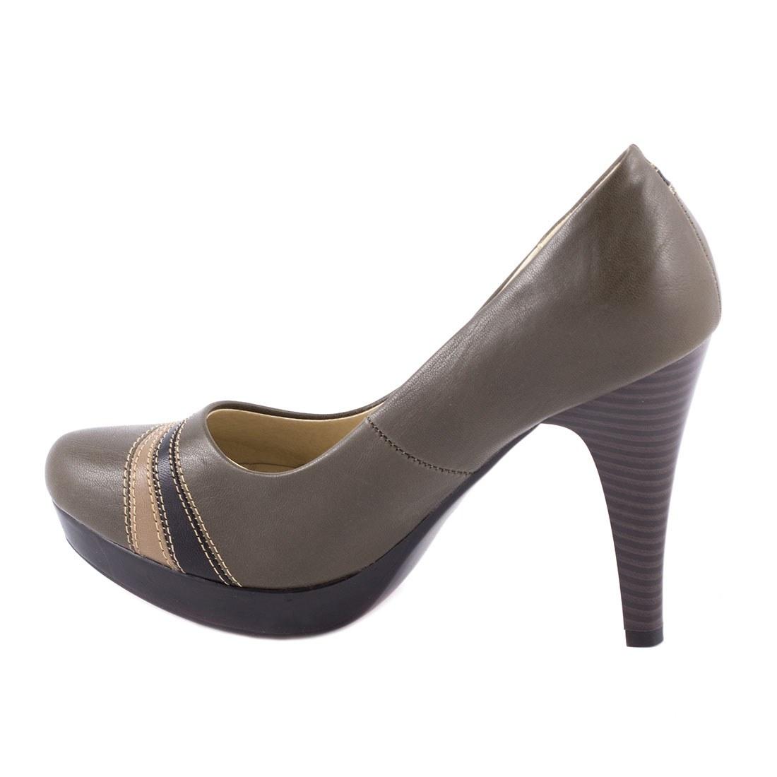 Pantofi dama cu toc 3526-5-VERDE