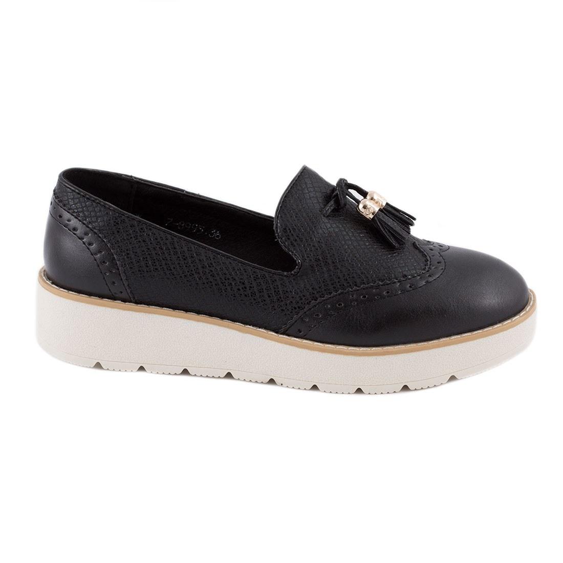 Pantofi dama comozi 7-8995-NEGRU