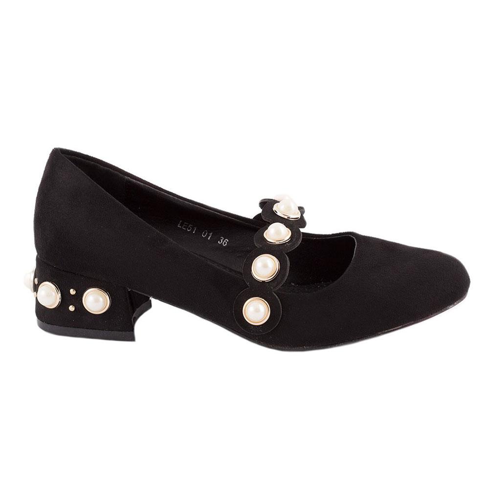 Pantofi dama comozi LE5101-NEGRU