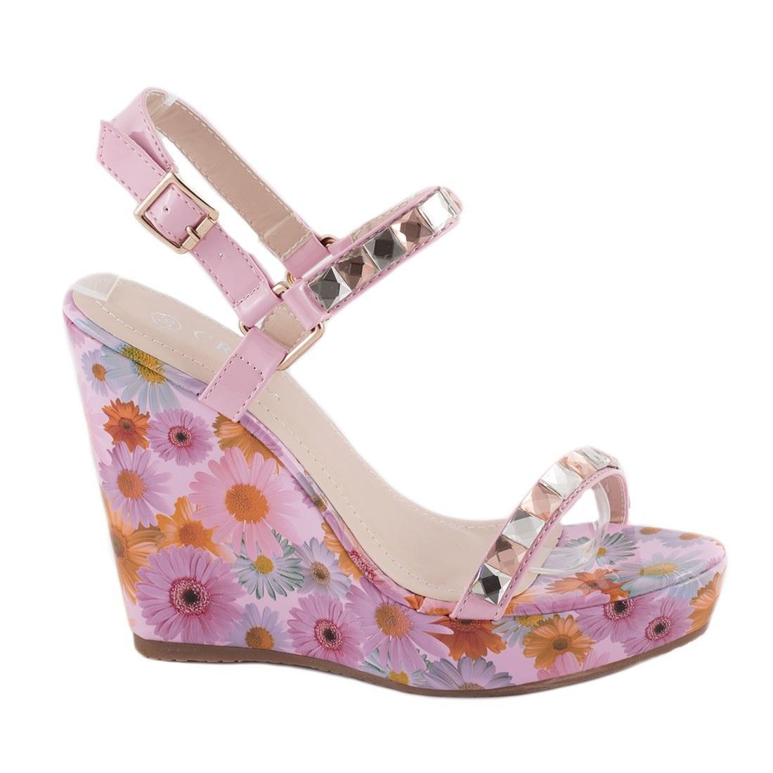 Sandale dama cu talpa ortopedica 83094-ROZ