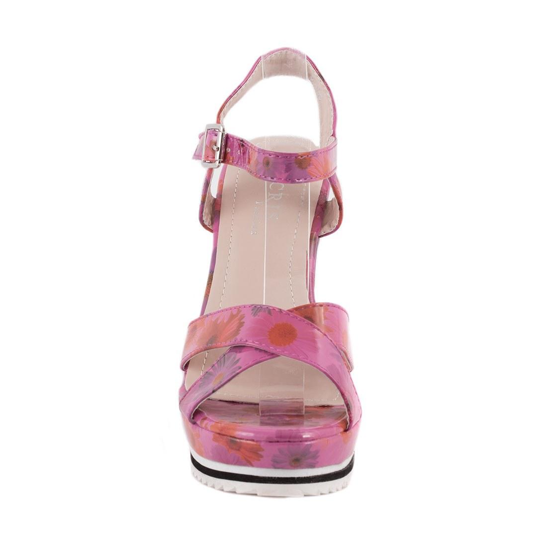 Sandale de dama cu talpa ortopedica 83095-ROZ