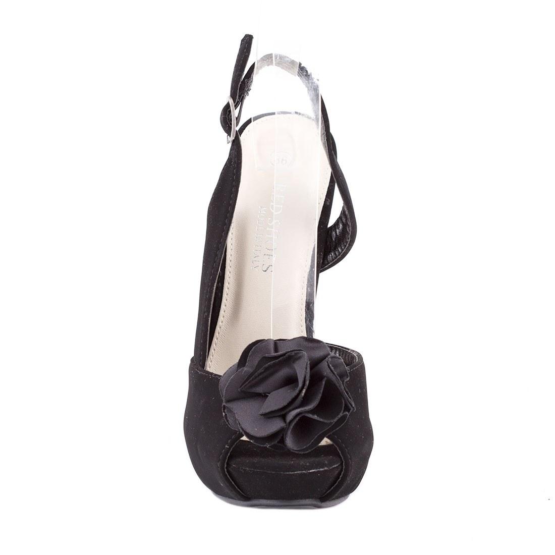 Sandale dama cu platforma 82062-NEGRU-L-A