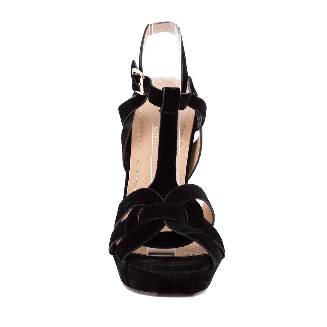 Sandale de dama cu barete 83092-NEGRU-SS
