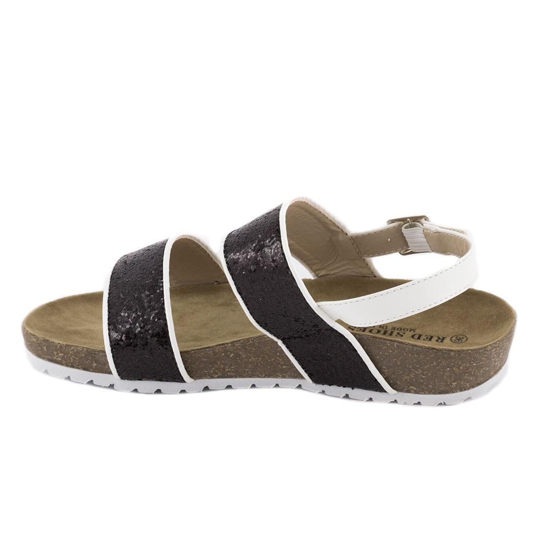 Sandale dama comode 83129-NEGRU-GT