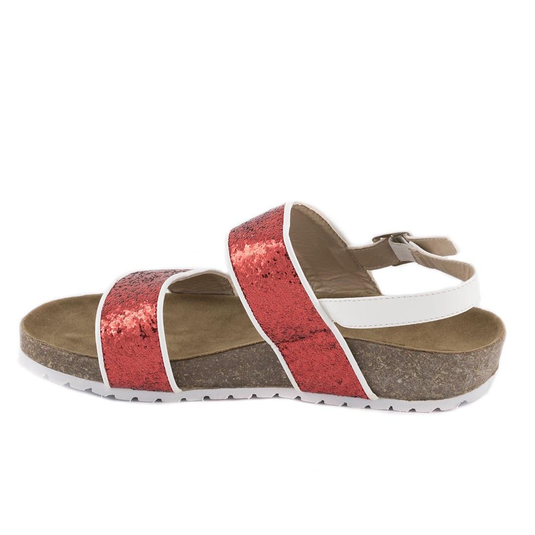 Sandale dama comode 83129-ROSU-GT