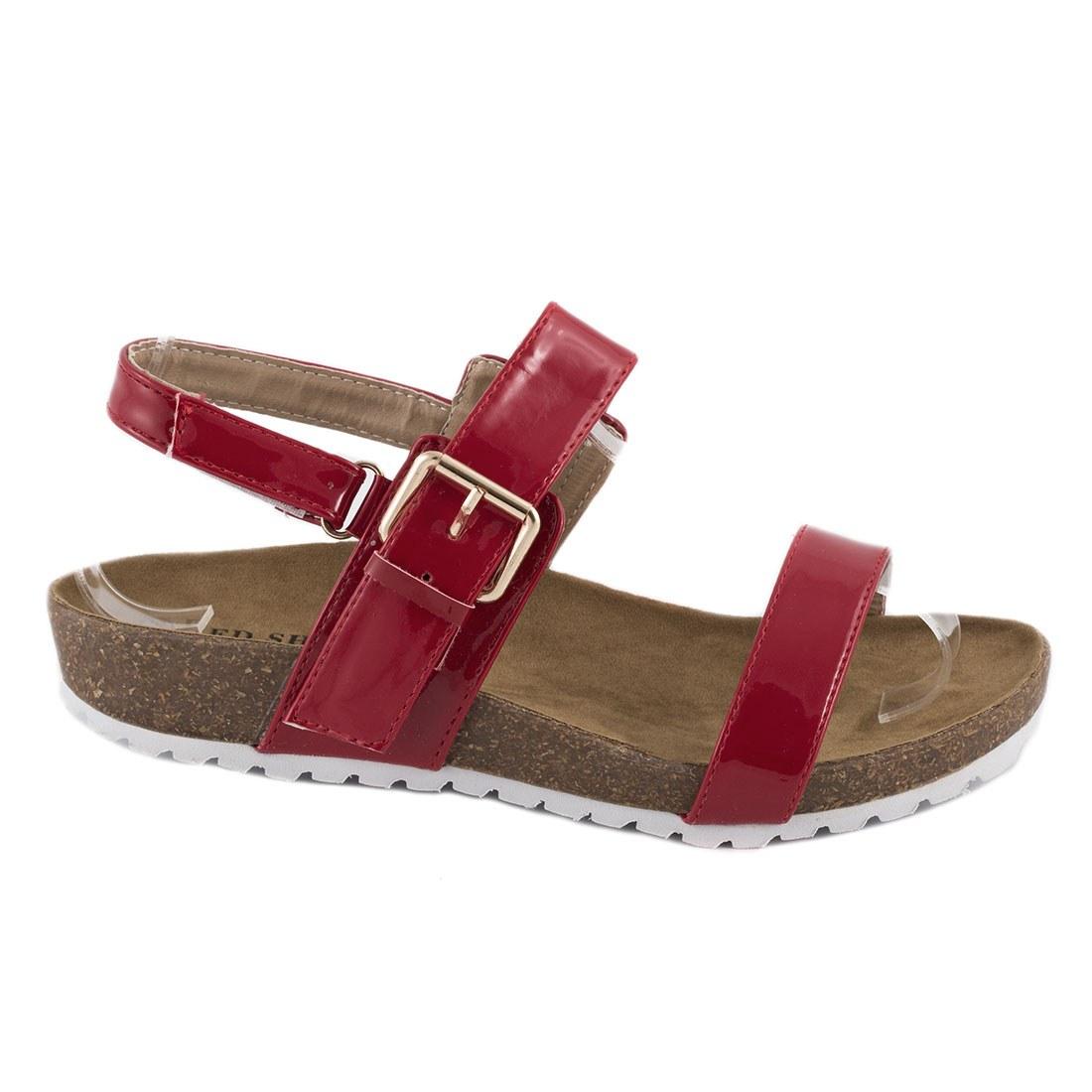 Sandale de dama usoare 83128-ROSU-PT