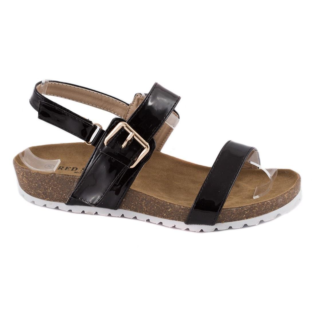 Sandale de dama usoare 83128-NEGRU-PT