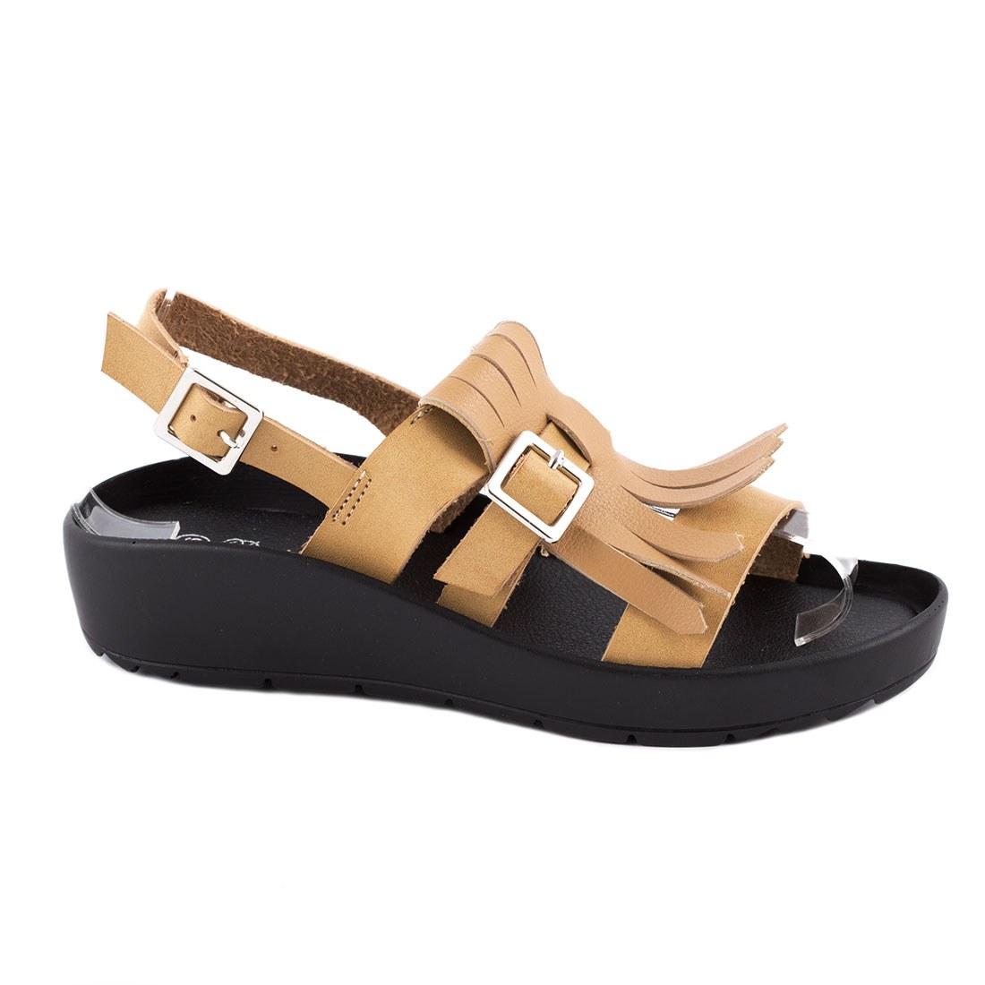 Sandale dama usoare BY-3H086-4-CAMEL