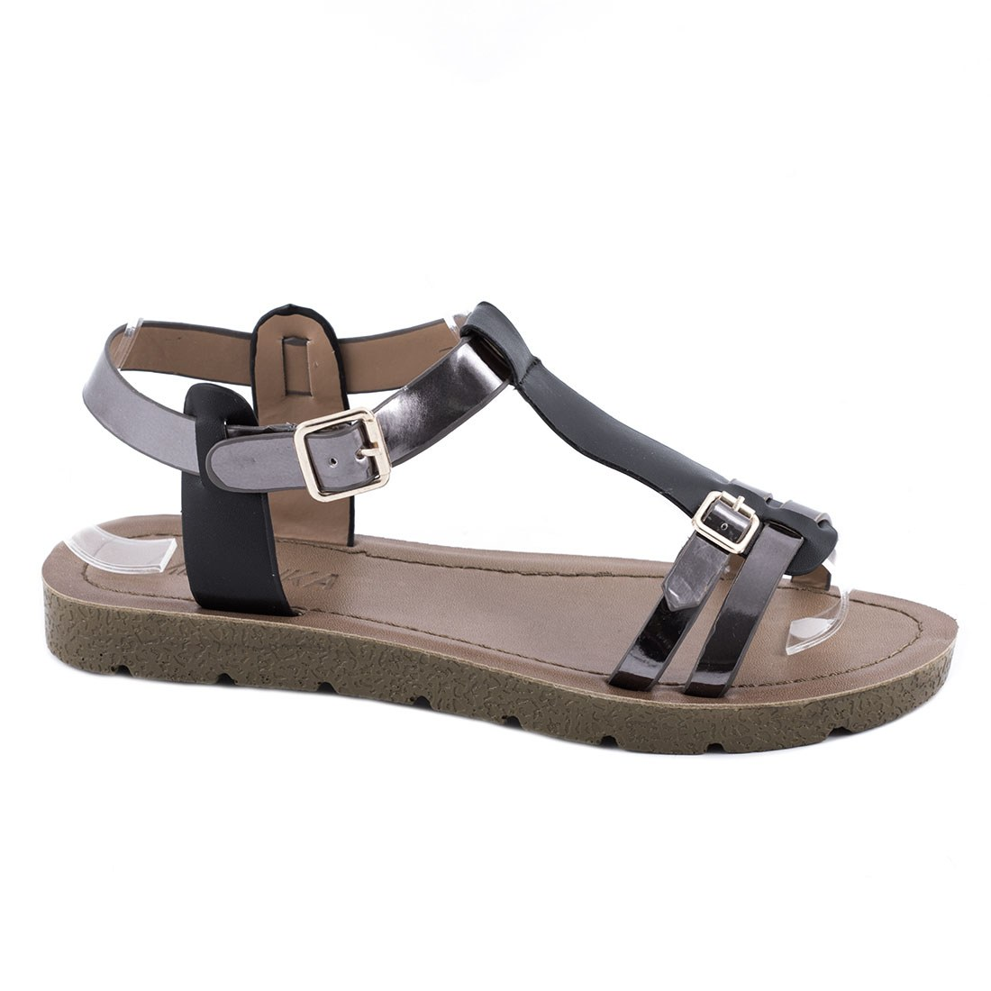 Sandale dama cu barete JK-60-NEGRU