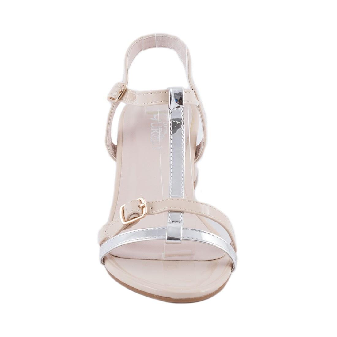 Sandale de dama cu toc GRS-865-APRICOT