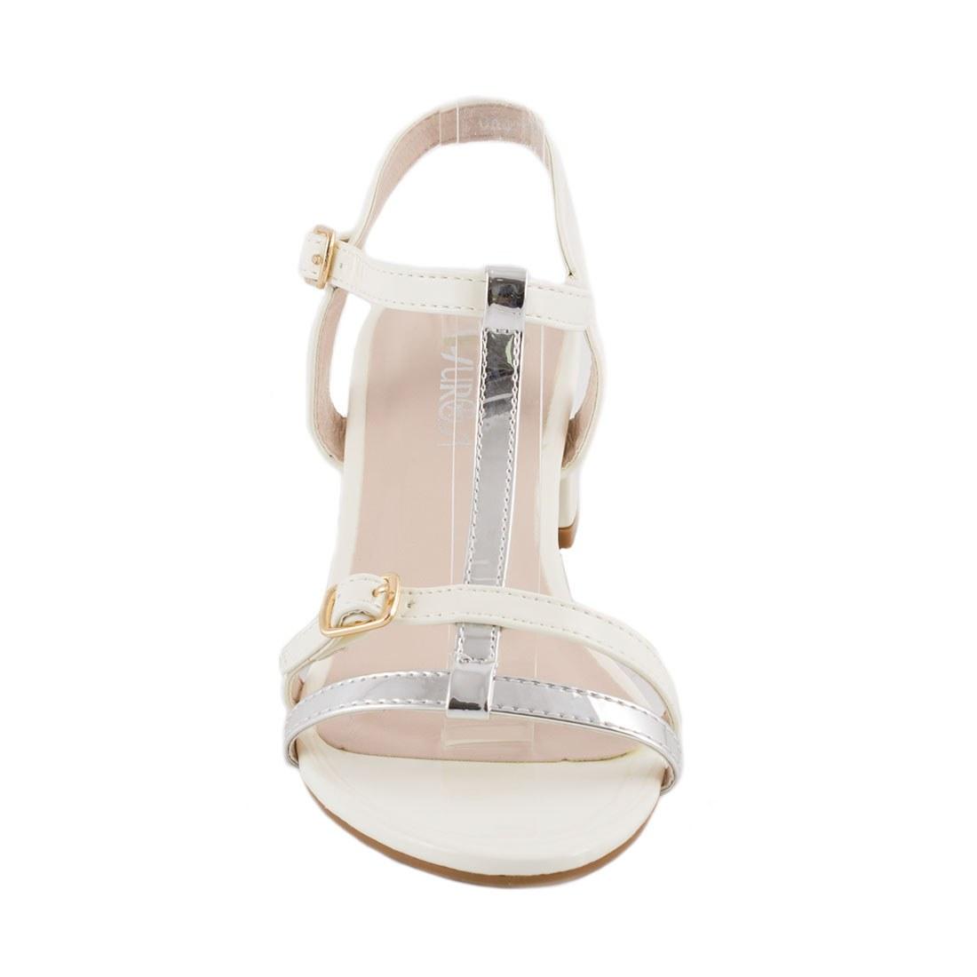 Sandale de dama cu toc GRS-865-BEJ