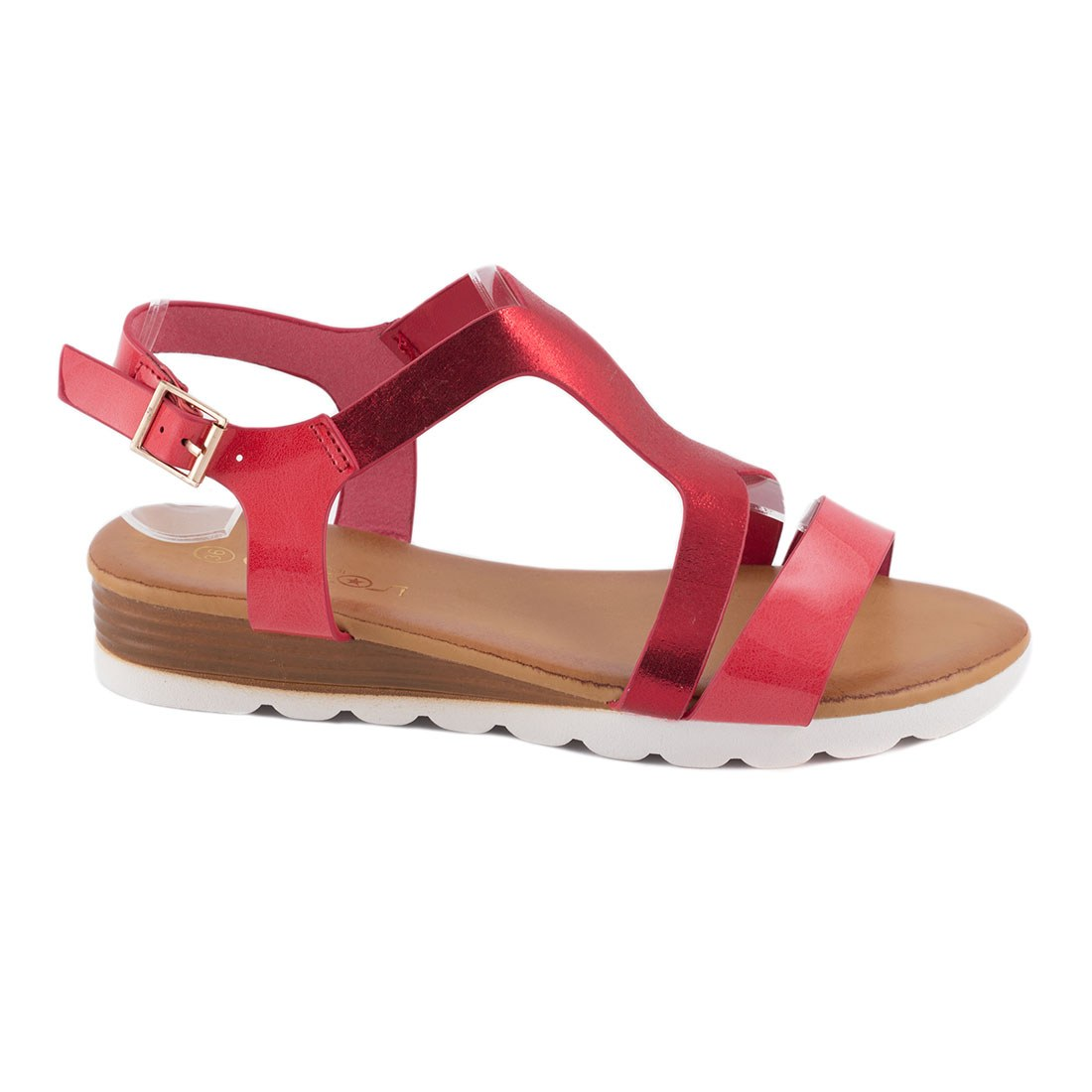 Sandale dama comode JS-5889-ROSU