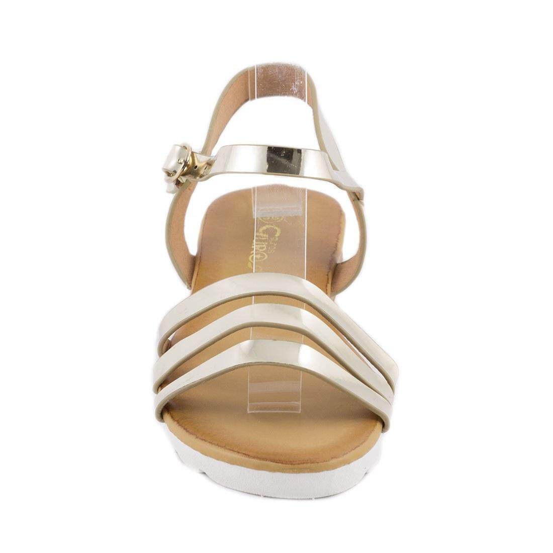 Sandale de dama comode JS-6058-GOLD