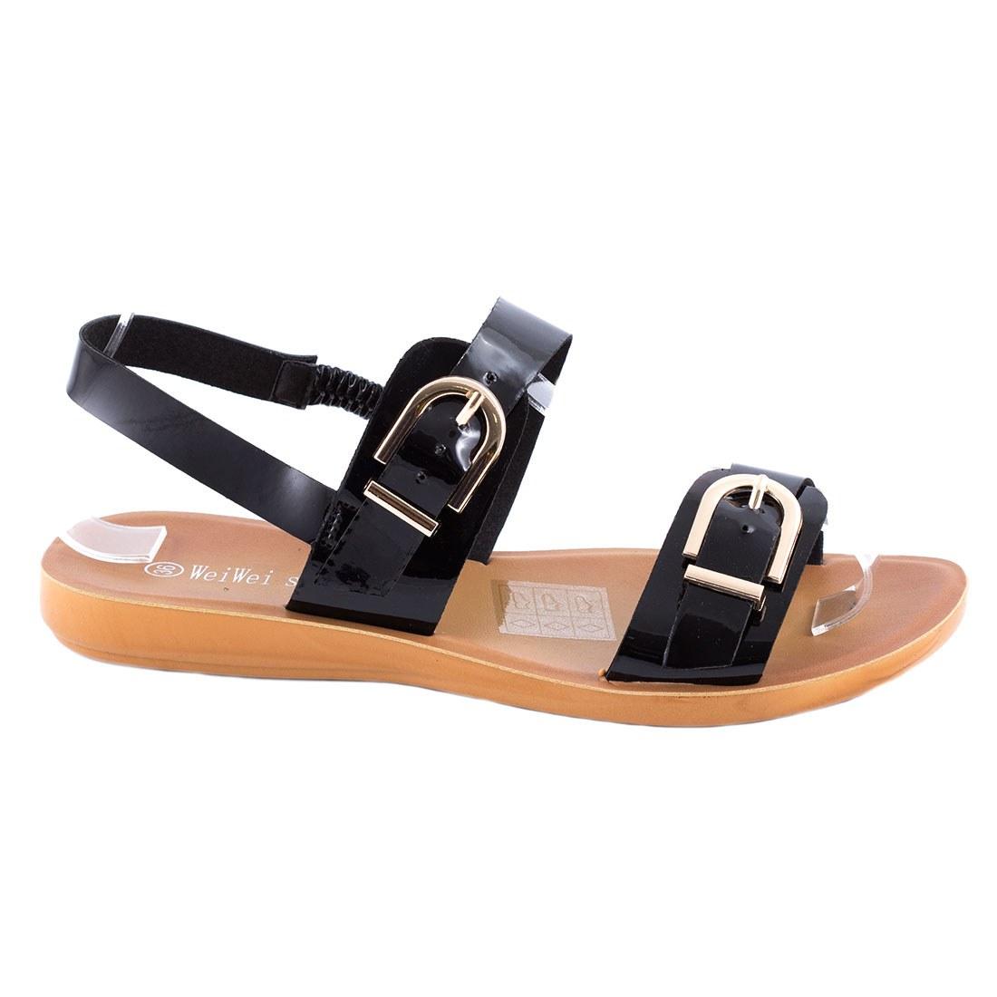 Sandale de dama usoare LS-11-NEGRU