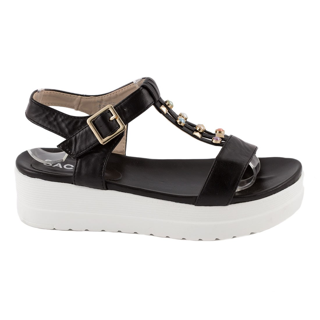 Sandale dama usoare W0079-22-NEGRU