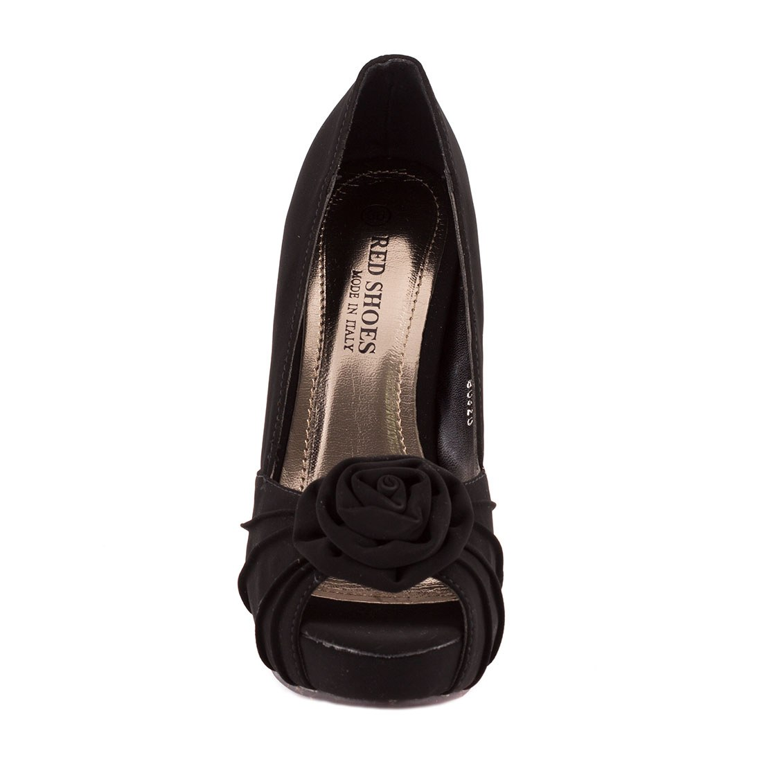 Pantofi de dama cu platforma 80320-NEGRU-L