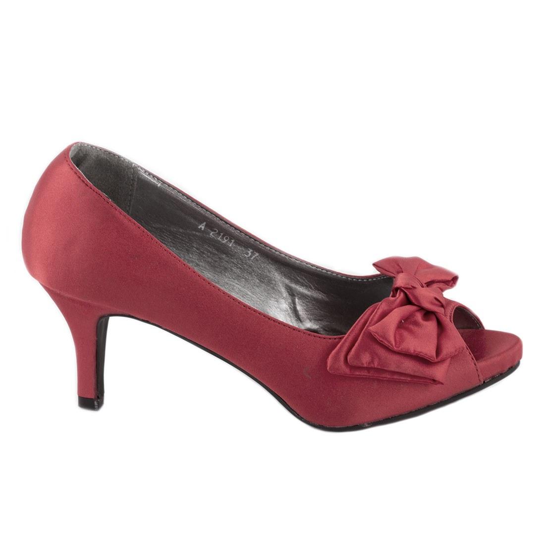 Pantofi de dama A2191-ROSU-O
