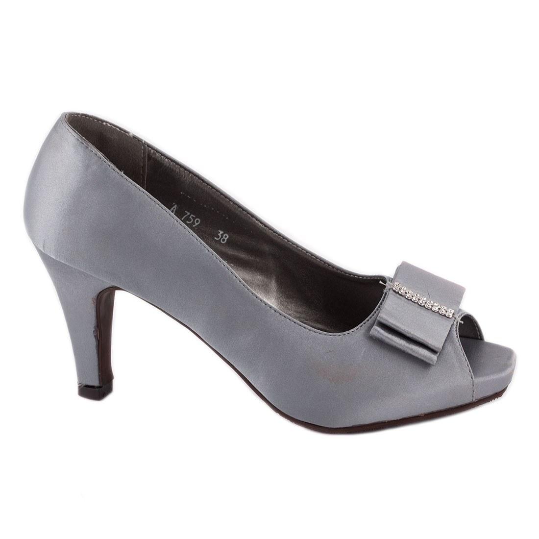 Pantofi de dama A759-GRI-O