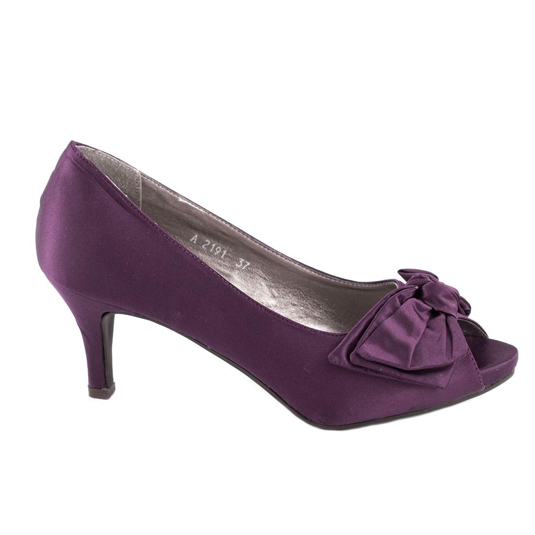 Pantofi de dama A2191-PURPLE-O