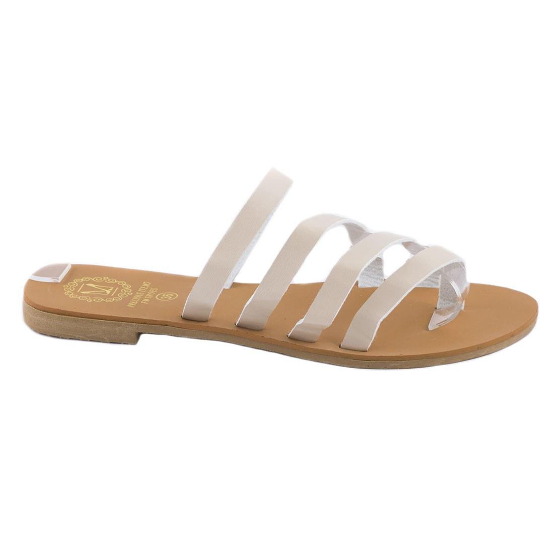 Papuci dama usori F-01-BEJ
