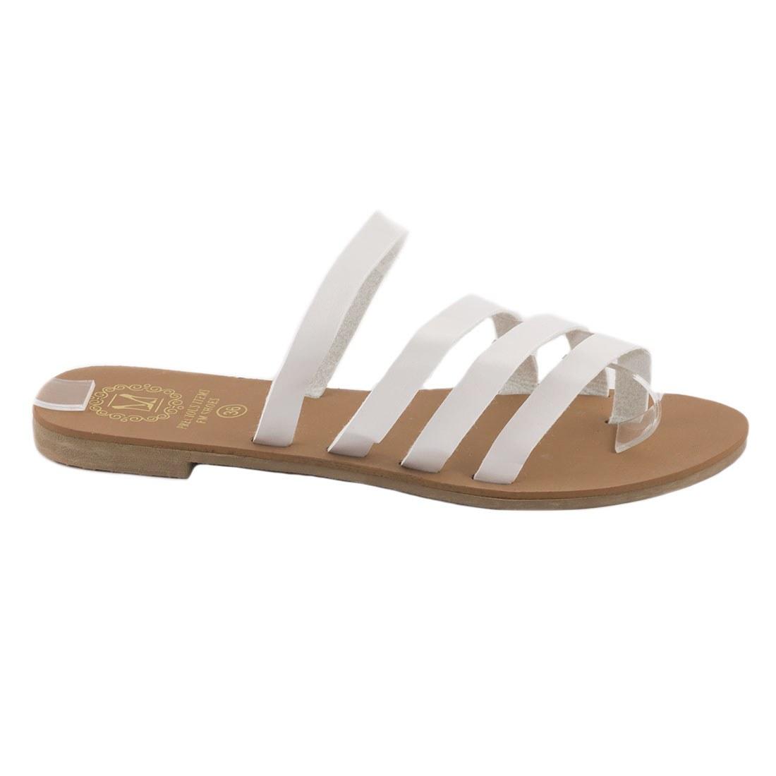 Papuci de dama usori F-01-ALB