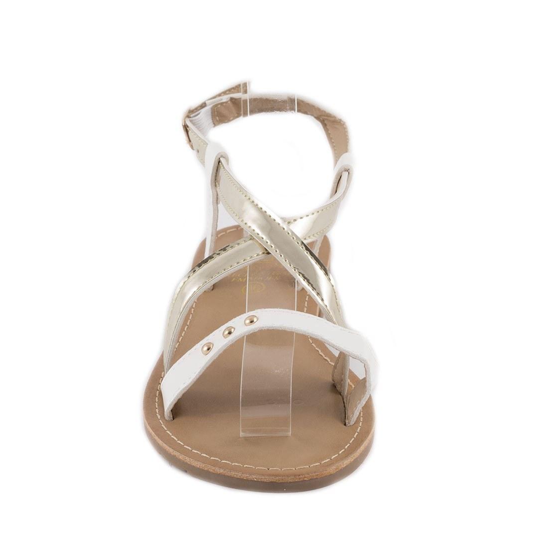 Sandale dama cu barete F-04-ALB