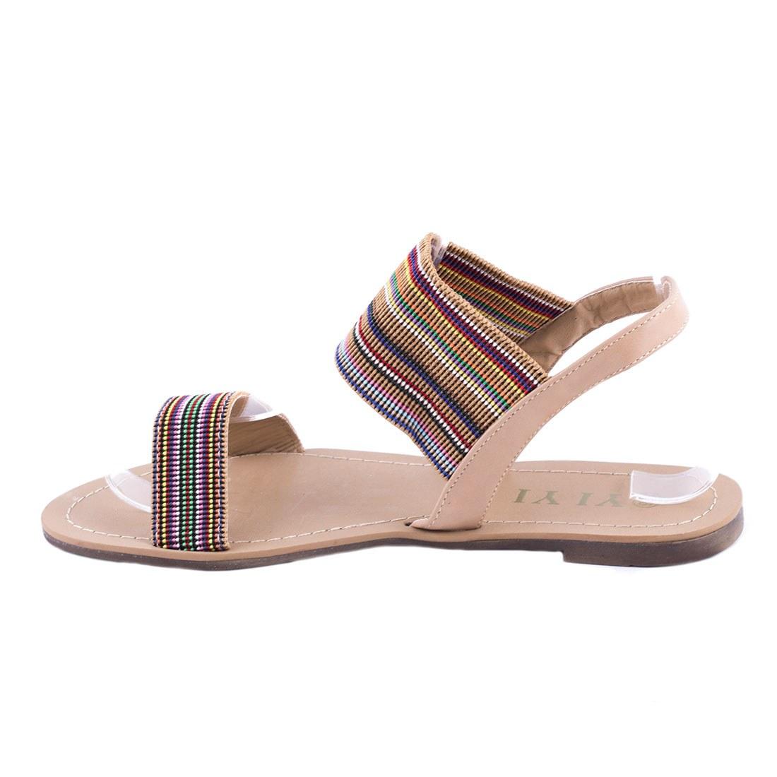 Sandale de dama comode K-59-KAKI