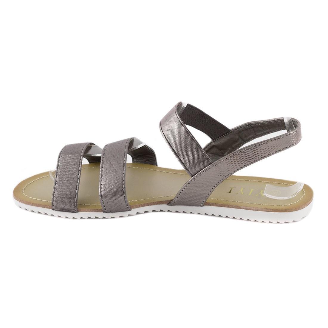 Sandale dama cu talpa joasa K-58-GRI