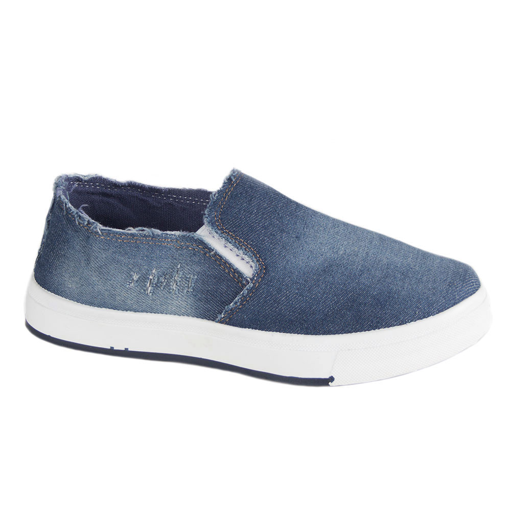 Espadrile dama denim 8825-D.BLUE