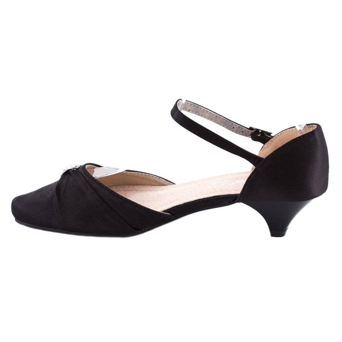 Sandale de dama cu varf acoperit F1516-1NEGRU