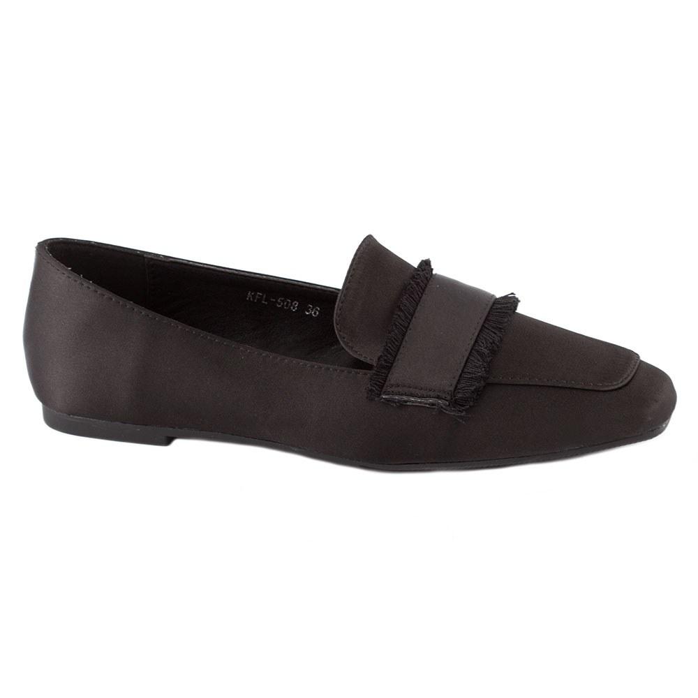 Pantofi dama cu talpa joasa KFL-508-NEGRU
