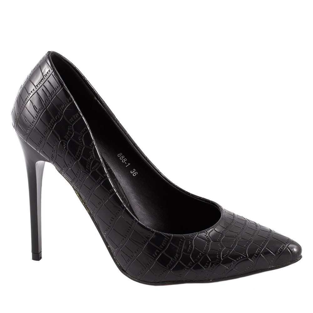 Pantofi de dama stiletto 888-1-NEGRU