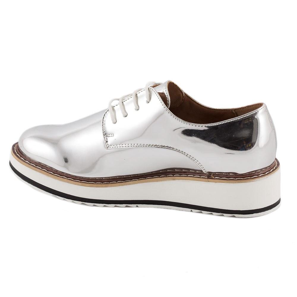 Pantofi dama casual 7A130-SILVER