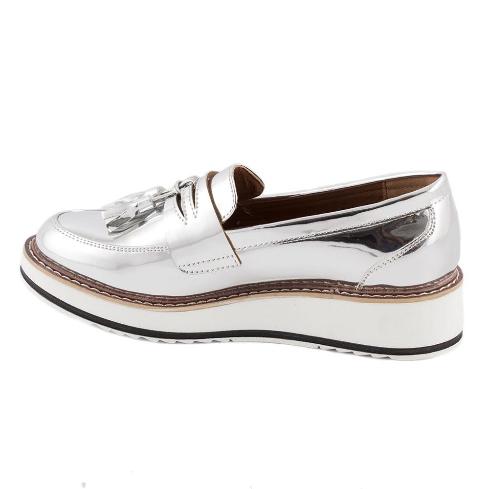 Pantofi dama casual 7A131-SILVER