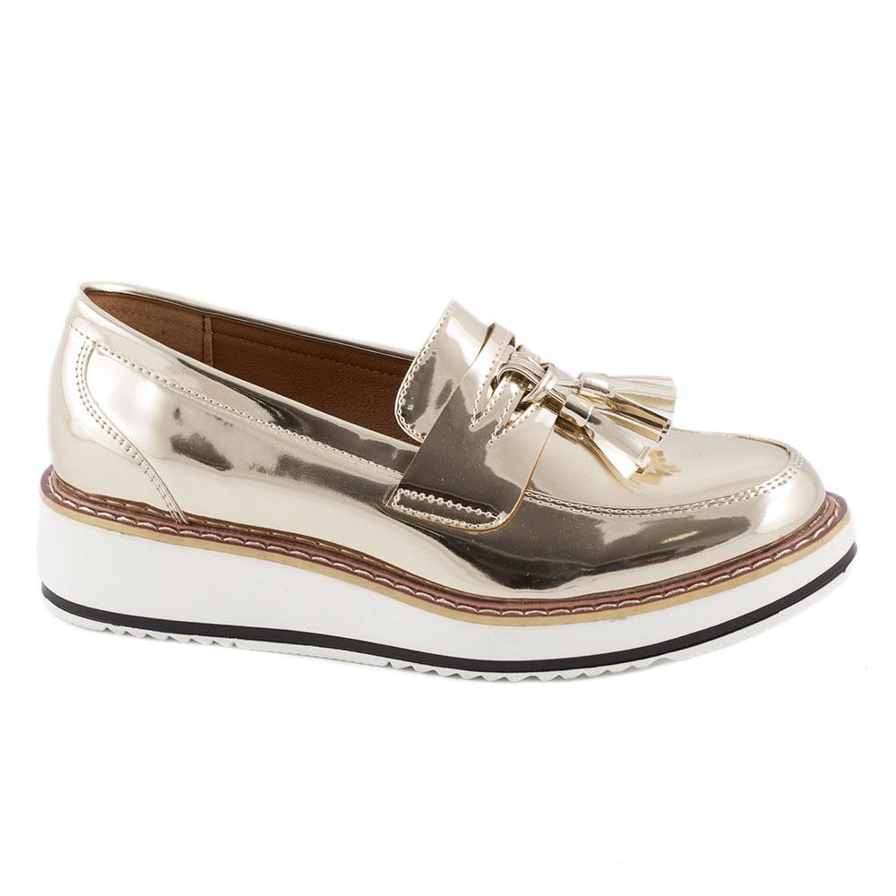 Pantofi dama casual 7A131-GOLD