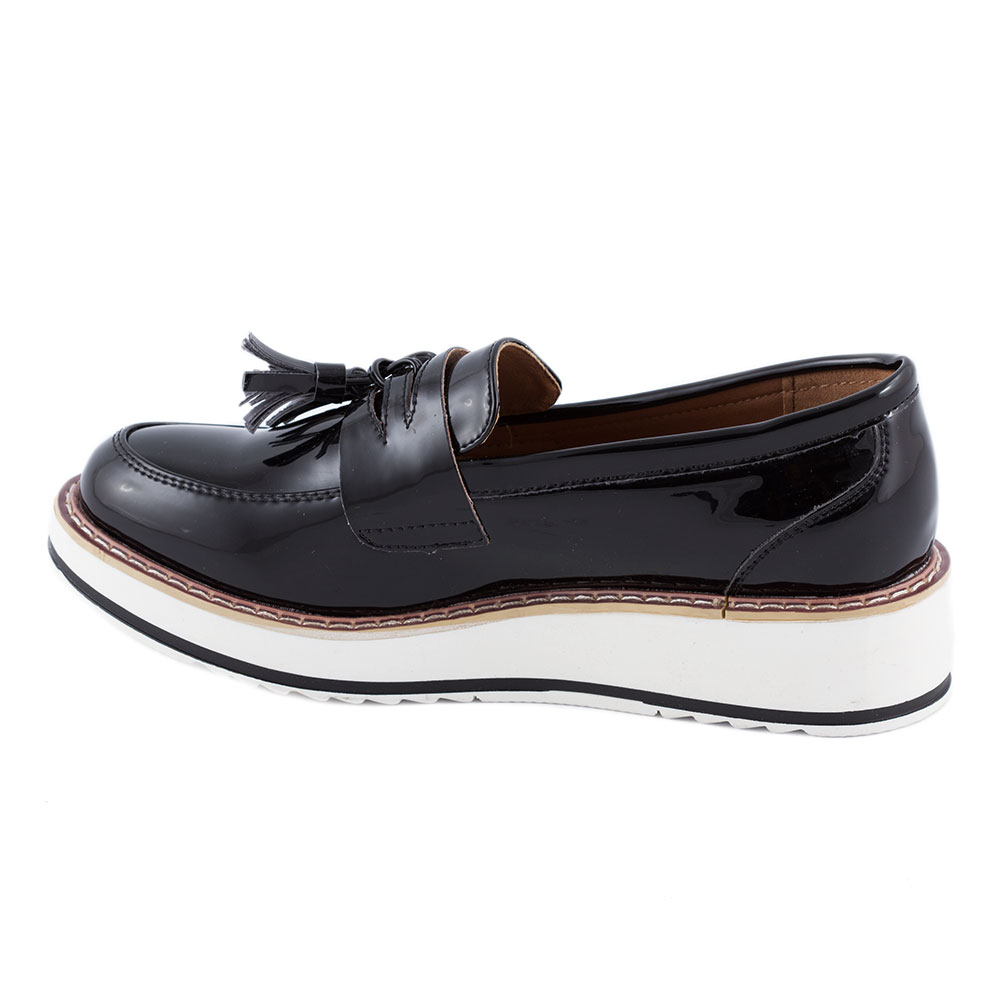 Pantofi dama casual 7A131-NEGRU