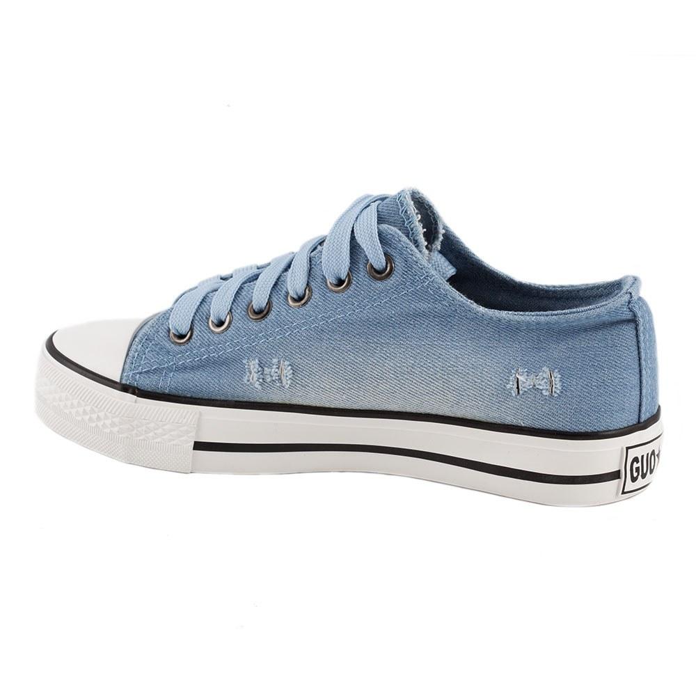 Tenisi de dama cu siret 6012-BLUE