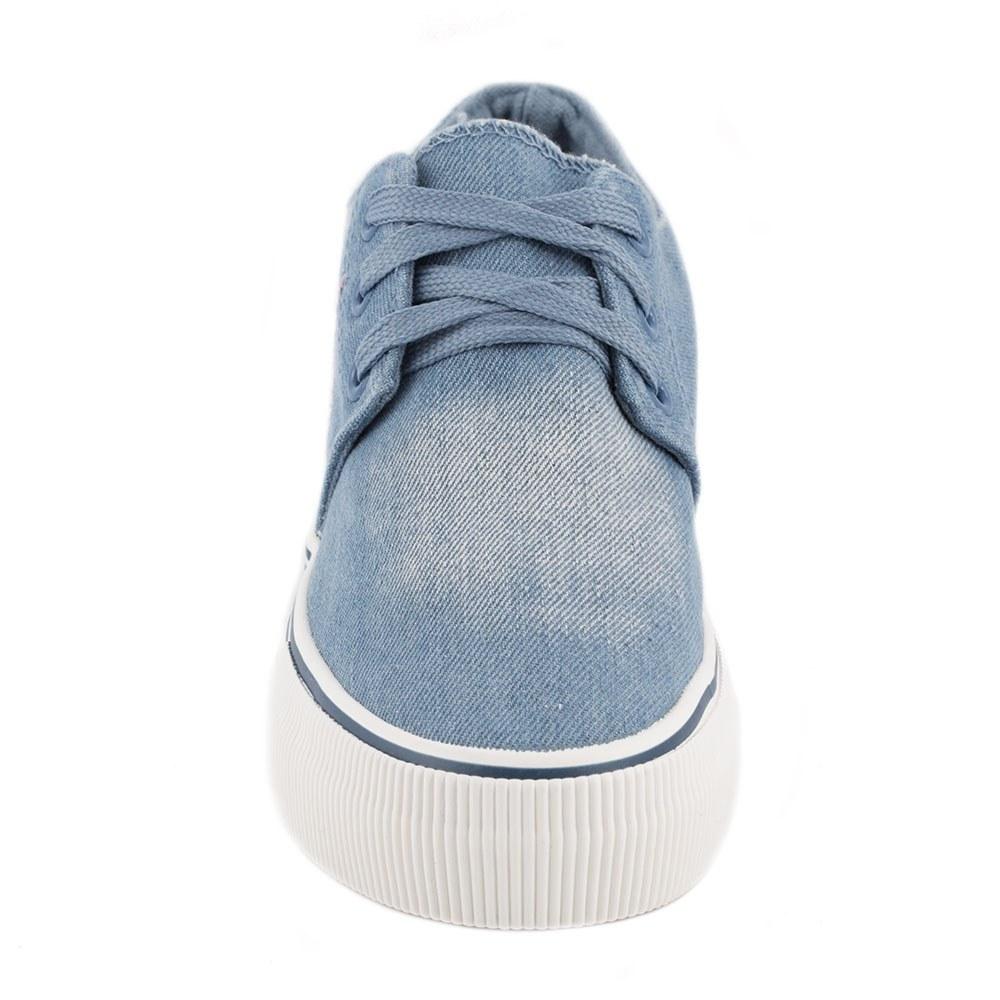 Tenisi de dama cu siret 6017-BLUE