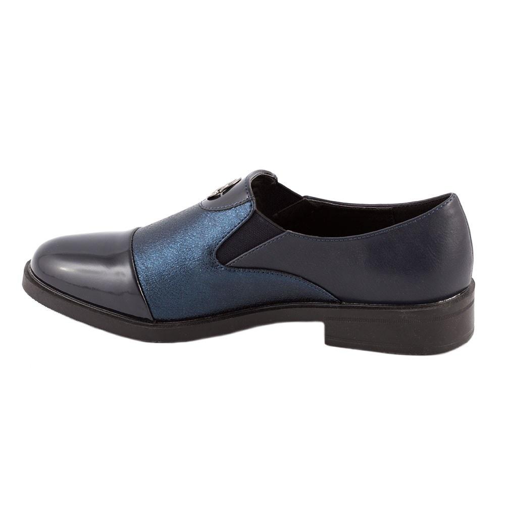 Pantofi dama casual L-3-DK.BLUE
